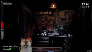 リスナーにもらったFive Nights at Freddy'sってゲームやります