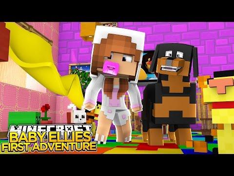 Minecraft - Little Kelly : BABY ELLIES FIRST ADVENTURE!