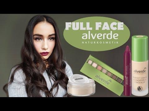 FULL FACE Alverde Glam Make Up   Naturkosmetik Im Test!