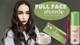 FULL FACE alverde Glam Make Up | Naturkosmetik im Test!
