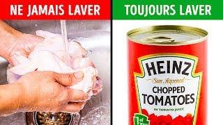 5 Aliments Que Tu ne Devrais Jamais Laver
