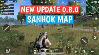 PUBG MOBILE 0.8.0 Global Beta is out with SANHOK Map | Download Link |