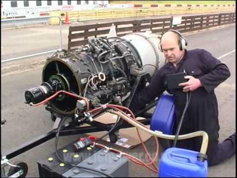Rolls Royce Viper 203 Jet Engine (70% run)
