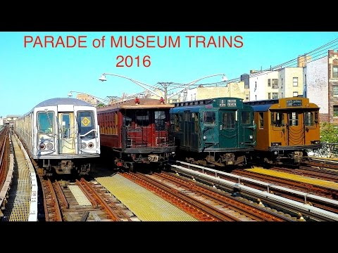 NYC Transit Museum Parade of Trains 2016 (40th Anniversary of Transit Exhibit opening)