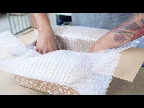 Il tuo pacchetto dal momento dell'ordine al momento della consegna a casa tua!