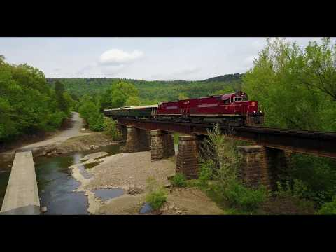 Arkansas & Missouri Railroad - Van Buren to Winslow - Drone