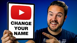 How to Change YouṪube Channel Name 2021 UPDATED (Desktop & Mobile)