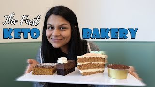 We Visit The First Keto Bakery! Full Day of Keto Eating