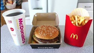 The FASTEST Grand Mac Meal Ever Eaten (under 1 Minute!!) thumbnail