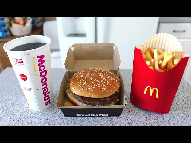 The FASTEST Grand Mac Meal Ever Eaten (under 1 Minute!!)