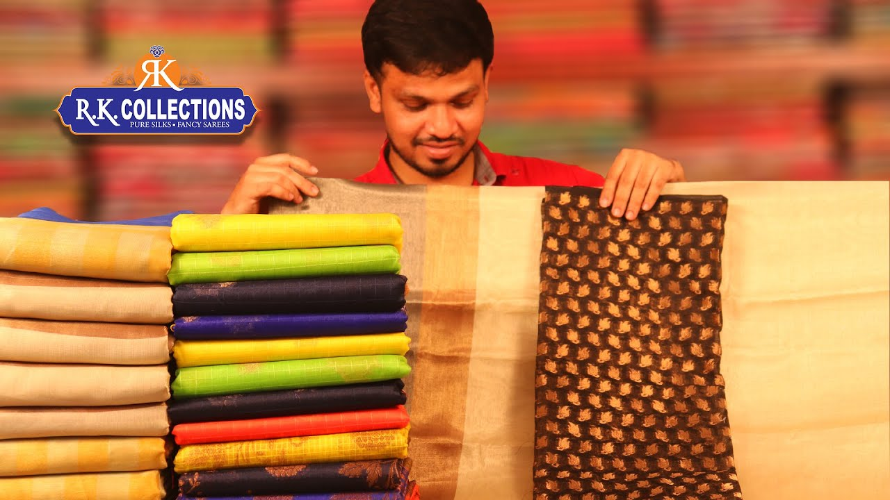 Latest Fancy Sarees Collection I RKcollections I