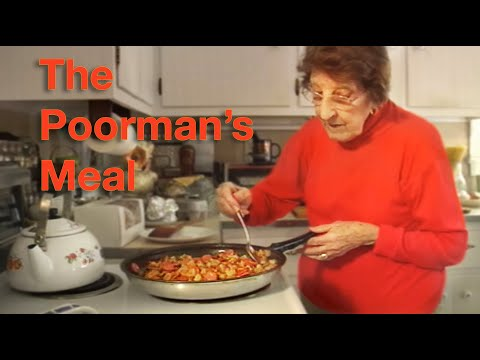 Great Depression Cooking – The Poorman's Meal – Higher Resolution