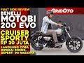 Benelli Motobi 200 Evo L First Ride Review L Gridoto