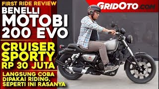 Benelli Motobi 200 EVO l First Ride Review l GridOto