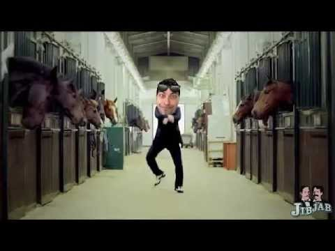 JibJab GanGnam Style Funny Cover Video