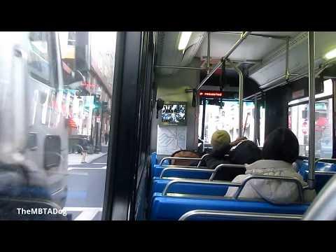 TheMBTADog: MBTA Bus Silver Line 4 (SL4) Ride - DUDLEY SQUARE to SOUTH STATION [NABI CNG 2142]