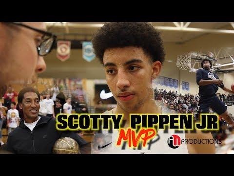 Scotty Pippen Jr. MVP | Cassius Stanley & Sierra Canyon WIN Les Schwab CHAMPIONSHIP vs. University