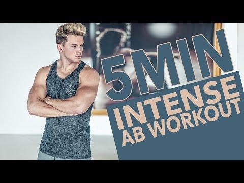 INTENSE 5 MIN AB WORKOUT | Philhilftviel