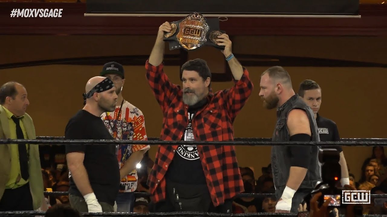 Download Nick Gage against Jon Moxley - GCW Fight Club 10/10/21