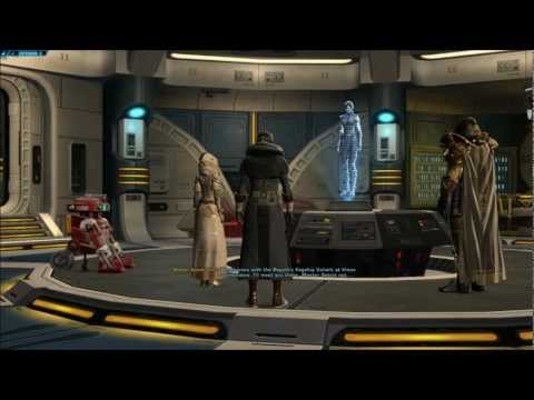 SWtOR Jedi Knight Story Cutscenes Pt. 29 [Chapter 3 Ending / Dromund Kaas / Light Side]