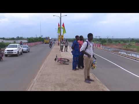 Infrastructures routières au Togo quelques exemples.