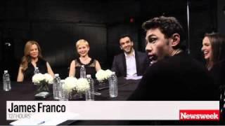 "James Franco's ""Horrible"" Sex Tape -- More at video.NEWSWEEK.com"