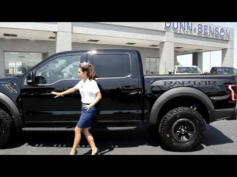 Miss North Carolina 2017 Victoria Huggins With Our New 2018 Ford F-150 Raptor Edition