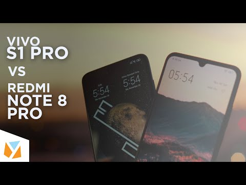 Vivo S1 Pro vs Redmi Note 8 Pro Comparison Review