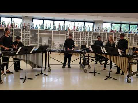 Monroe Township Middle School Percussion Symphony Xylophonia by Joseph Green