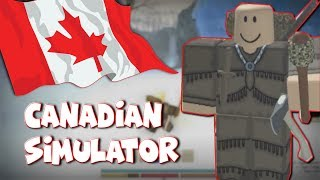 Surviving the Cold! The Canadian Simulator part 2 |Northern Frontier Roblox Funny