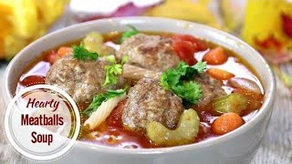Meatball Soup - Ultimate Comfort Food