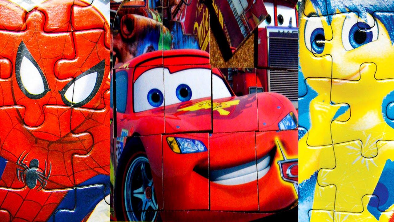 Cars Y El Hombre Arana