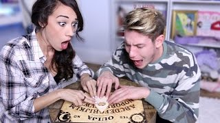 playing with a ouija board