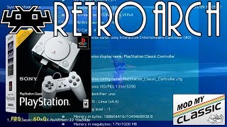 RetroArch ported to Playstation Classic!