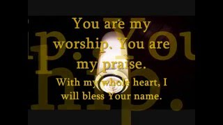 """My Worship"" John P. Kee lyrics"