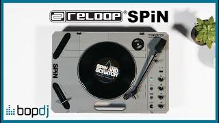 Reloop SPIN Portable Turntable Talk-Through | Bop DJ