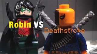 Lego Versus - DC Super Heroes: Robin VS Deathstroke