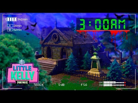 DON'T STAY IN HAUNTED HILLS AT 3AM - Little Kelly Fortnite