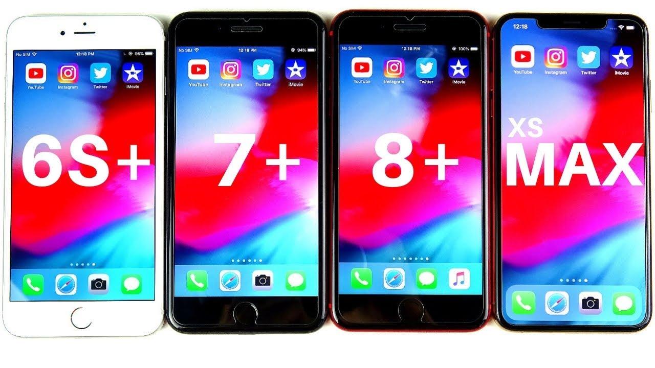 iphone 7 plus vs iphone xs max