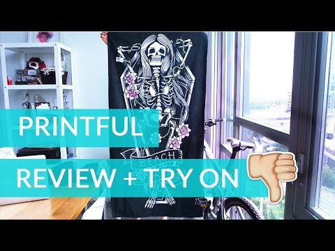 Printful Review (FAIL) - Towels, Embroidery, Totes