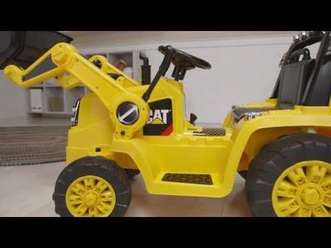 3b844b151f3 Kidtrax CAT Bulldozer Tractor 6V Battery Powered Ride On Toy Excavator Kids  Play