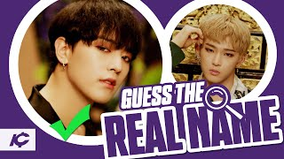 GUESS KPOP IDOL BY THEIR REAL NAME - KPOP GAME
