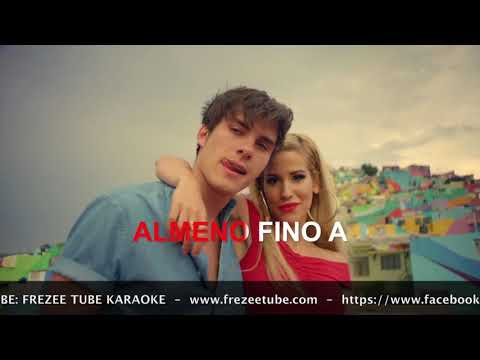 Ba K Feat Andrès Dvicio  Voglio ballare con te  Karaoke con testo