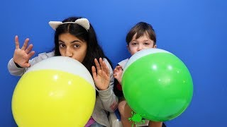 Learn Colors with Balloons | Finger Family Song for Children Toddlers Nursery Rhymes