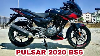 2020 Bajaj Pulsar 220F BS6 // PRICE // New Features, Specifications, Review // PR Moto Vlogs