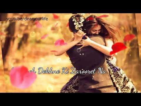 Abhi saans lene ki  fursat nahi hai : Romantic song ||Whatsapp status video