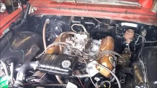 1963 Ford 390 Police Interceptor First Start after Rebuild