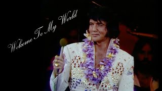 ELVIS PRESLEY - Welcome To My World (Rehearsal Concert / Aloha from Hawaii 1973)