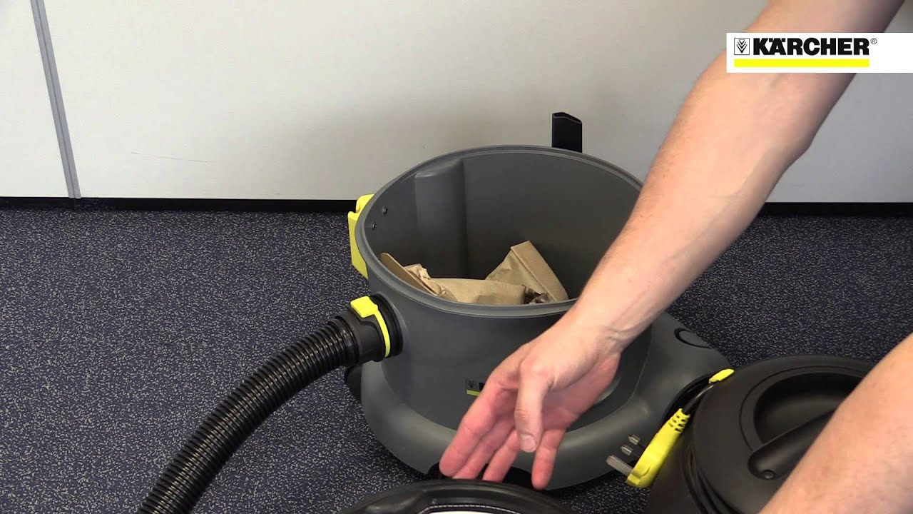 Karcher T 10 1 Commercial Vacuum Cleaner Youtube