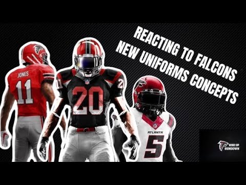 Everyone thinks the new Falcons uniforms look like they're XFL jerseys